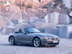 Обои BMW - Z4 (2003): Кабриолет, BMW, Камни, BMW Z4, BMW