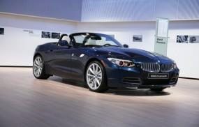 Обои BMW Z4 (2009): Кабриолет, Чёрное авто, BMW Z4, BMW