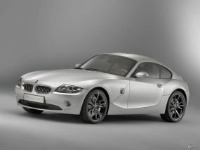 Обои BMW Z4 Coupe Concept (2005): BMW, Серебристый, BMW Z4, BMW