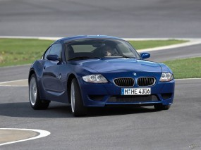 Обои BMW - Z4 M Coupe (2006): BMW, Синяя бэха, Sport Car, BMW Z4 M, BMW