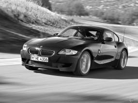 Обои BMW - Z4 M Coupe (2006): Авто, Ч/б, BMW Z4 M, BMW