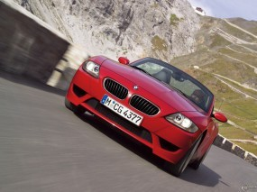 Обои BMW - Z4 M Roadster (2006): Кабриолет, Асфальт, Roadster, BMW Z4, BMW