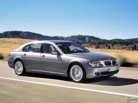 Обои BMW 7: Скорость, Трасса, BMW 7, BMW