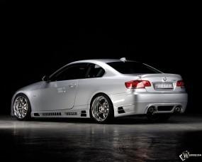 Обои BMW 3: Белое авто, BMW 3, BMW