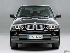 Обои BMW X5: Внедорожник, BMW X5, Чёрное авто, BMW