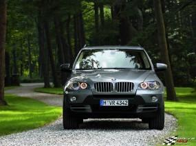 Обои BMW X5: Внедорожник, Природа, BMW X5, BMW