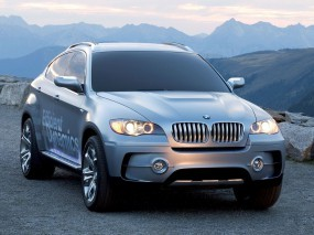 Обои BMW X6: BMW X6, Серебристая BMW, BMW