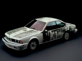 BMW 635 CSi Art Car - 6 (1986): Роберт Раушенберг