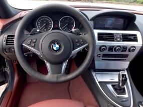 Обои Интерьер BMW 6-серии Купе : БМВ, Бэха, Руль, BMW 6, BMW