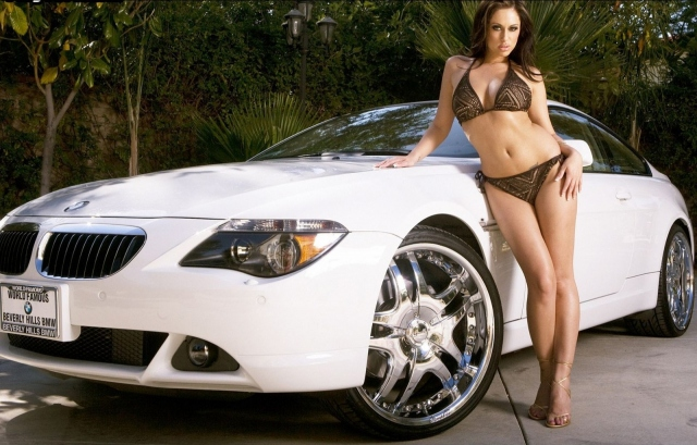 Jessica Jayme и BMW M6