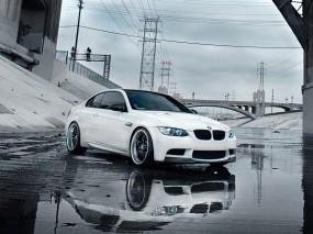 Обои БЕХА ТЮНИНГ М3 Е92: Вода, Небо, BMW M3, Тюнинг, BMW