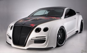 Обои Bentley Continental GT: Bentley Continental GT, Тюнинг, Bentley