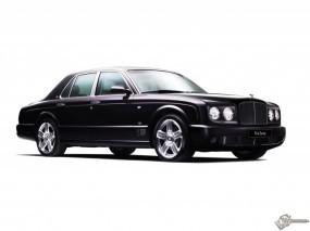 Обои Черный Bentley Arnage на белом фоне: Bentley Arnage, Bentley