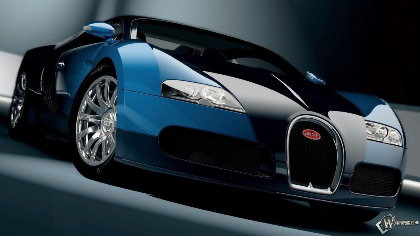 Bugatti Veyron 1366x768