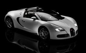 Обои Bugatti Veyron: Кабриолет, Bugatti Veyron, Белый, Bugatti