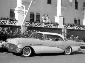 Buick Super Riviera Hardtop Sedan 1956