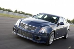 Обои Cadillac - CTS-V: Кадиллак, Авто, Дорога, Cadillac, Cadillac CTS-V, Кадиллак КТС-В, Cadillac