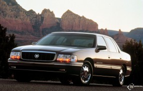 Обои Cadillac DeVille 1994: Кадиллак, Горы, Авто, Cadillac, Cadillac DeVille, Кадиллак Девайл, Cadillac