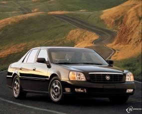 Обои Cadillac DeVille: Кадиллак, Авто, Дорога, Cadillac, Cadillac DeVille, Кадиллак Девайл, Холмы, Cadillac