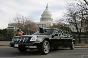 Обои Cadillac DTS Presidential Limousine: Кадиллак, Авто, Cadillac, Лимузин, Limousine, Белый дом, Cadillac DTS, Presidential Limousine, Cadillac