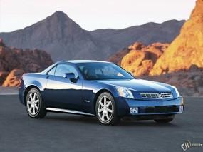 Обои Cadillac XLR: Кадиллак, Горы, Авто, Дорога, Auto, Cadillac XLR, Cadillac