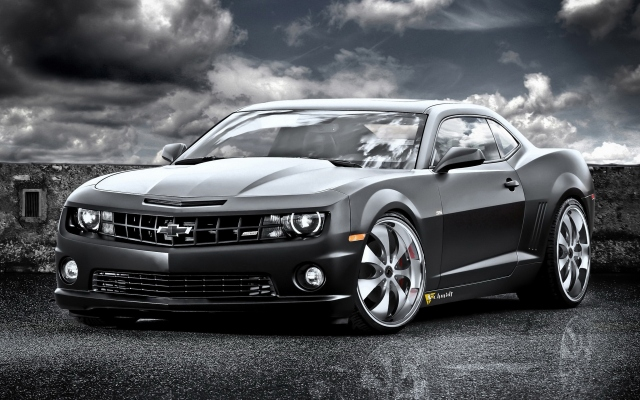 Chevrolet Camaro SS Black Cat