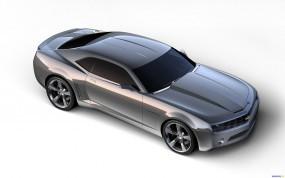 Обои Серый Chevrolet: Chevrolet Camaro, Chevrolet