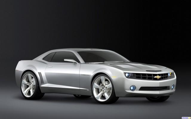 Серый Chevrolet