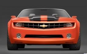 Обои Chevrolet Camaro Convertible Concept: Chevrolet Camaro, Chevrolet