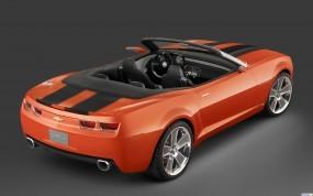 Обои Chevrolet Camaro Convertible Concept: Кабриолет, Chevrolet Camaro, Chevrolet