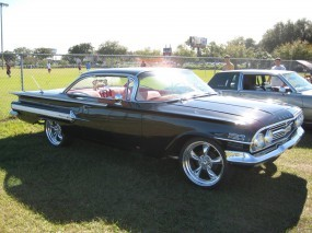 Обои Chevrolet Impala 1960: Chevrolet Impala, Chevrolet