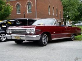 Обои Chevrolet Impala Convertible 1963 : Кабриолет, Chevrolet Impala, Chevrolet