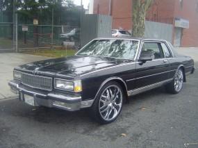 Обои Chevrolet Caprice 1987 : Chevrolet Caprice, Chevrolet