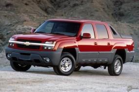 Обои Chevrolet Avalanche (2002): Пикап, Chevrolet Avalanche, Chevrolet