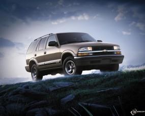 Обои Chevrolet Blazer: Внедорожник, Chevrolet Blazer, Chevrolet