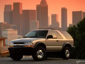 Обои Chevrolet Blazer 1999: Внедорожник, Chevrolet Blazer, Chevrolet