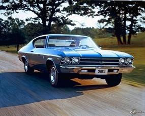 Обои Chevrolet Chevelle 1968: Chevrolet Chevelle, Chevrolet