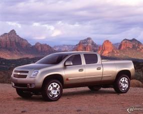 Обои Chevrolet Cheyenne 2003: Пикап, Chevrolet Cheyenne, Chevrolet