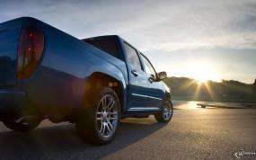 Обои Chevrolet Colorado Sport Crew Cab: Пикап, Chevrolet Colorado, Chevrolet