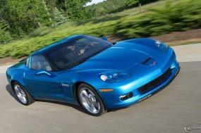 Обои Chevrolet Corvette Grand Sport 2010: Корвет, Chevrolet Corvette, Chevrolet