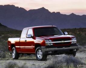 Обои Chevrolet Silverado: Пикап, Chevrolet Silverado, Chevrolet
