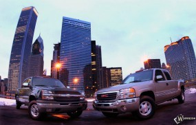Обои Chevrolet Silverado: Chevrolet Silverado, Пикапы, Chevrolet