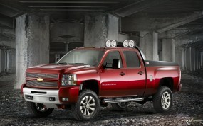 Chevrolet Silverado HD Z71 Big Red