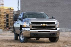 Обои Chevrolet Silverado Heavy Duty Extended Cab: Пикап, Chevrolet Silverado, Chevrolet