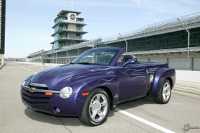 Обои Chevrolet SSR Indianapolis Pace Car: Кабриолет, Chevrolet SSR, Chevrolet