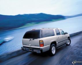 Обои Chevrolet Suburban: Внедорожник, Chevrolet Suburban, Chevrolet
