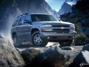 Обои Chevrolet Tahoe 2000: Внедорожник, Chevrolet Tahoe, Chevrolet