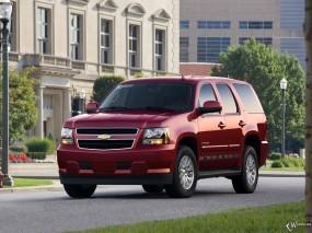 Обои Chevrolet Tahoe Hybrid: Внедорожник, Chevrolet Tahoe, Chevrolet