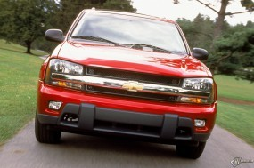Обои Chevrolet TrailBlazer: Внедорожник, Chevrolet TrailBlazer, Chevrolet