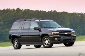 Обои Chevrolet TrailBlazer EXT: Внедорожник, Chevrolet TrailBlazer, Chevrolet